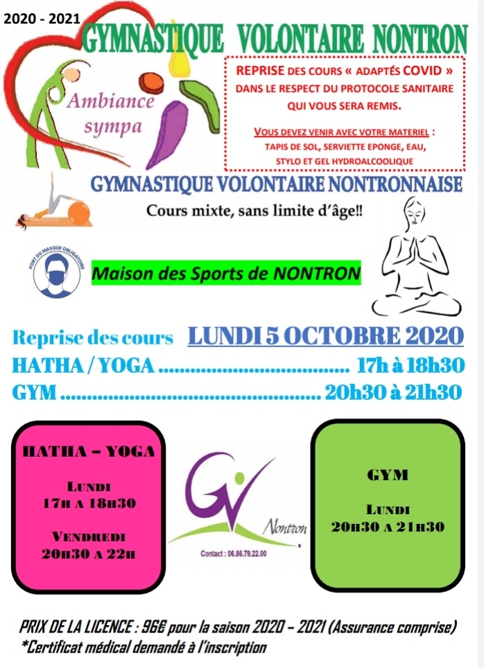 Gym Volontaire septembre 2018