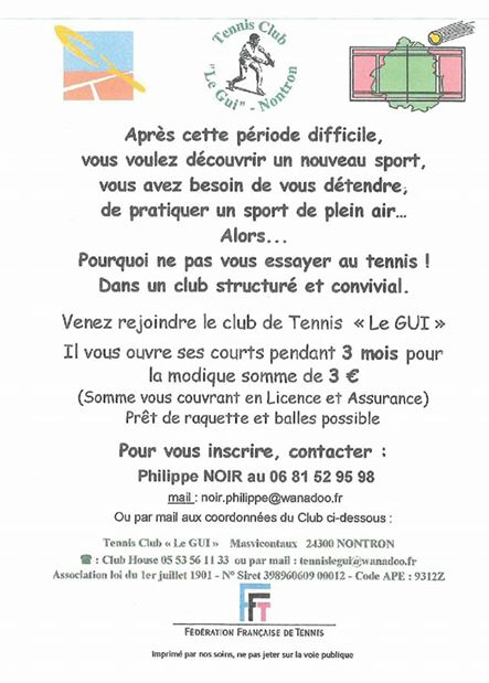 Club de tennis Le Gui