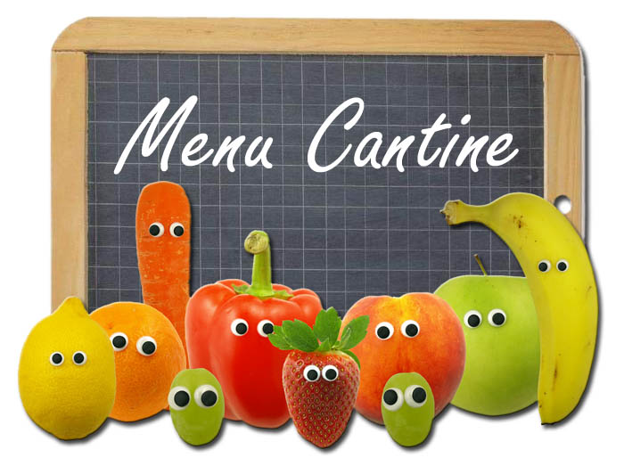 Menu Cantine fruits