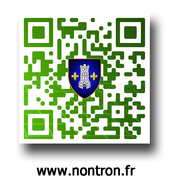 QR code site Mairie avec inscription copie