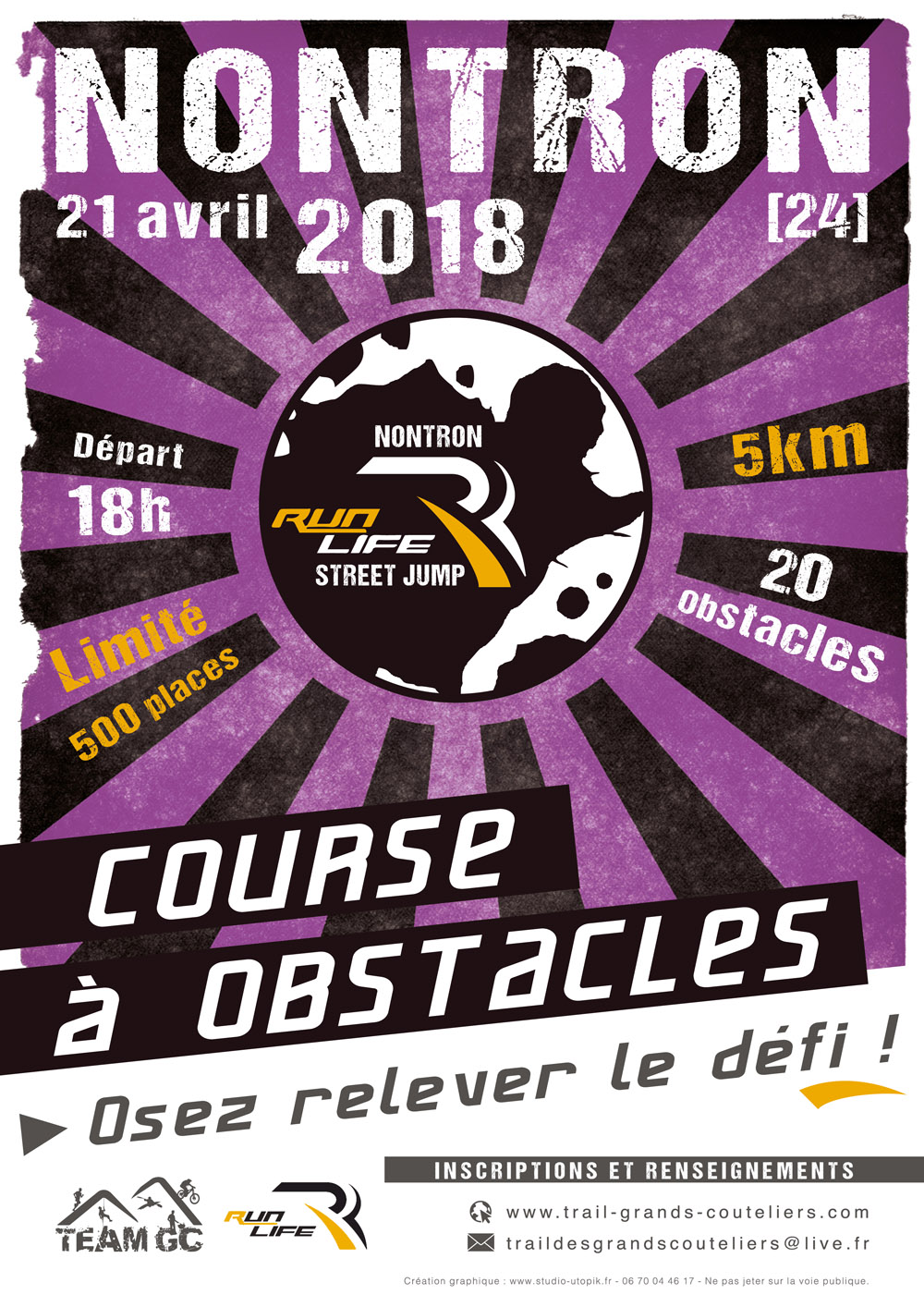 course a obstacles 2018