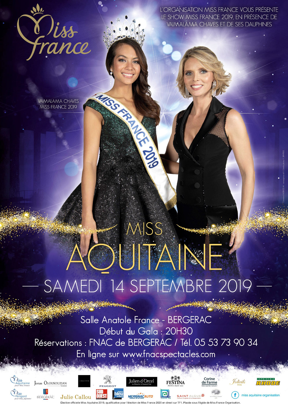 Miss France Aquitaine 2019